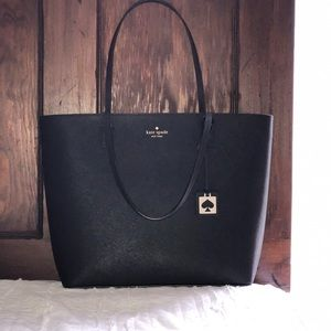 Kate spade tote BLACK PERFECT CONDITION